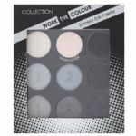 12 x Collection Work the Colour Eyeshadow Palette | Smokey No2 | 9 Shades